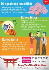Ngoai khoa Mina thang 8